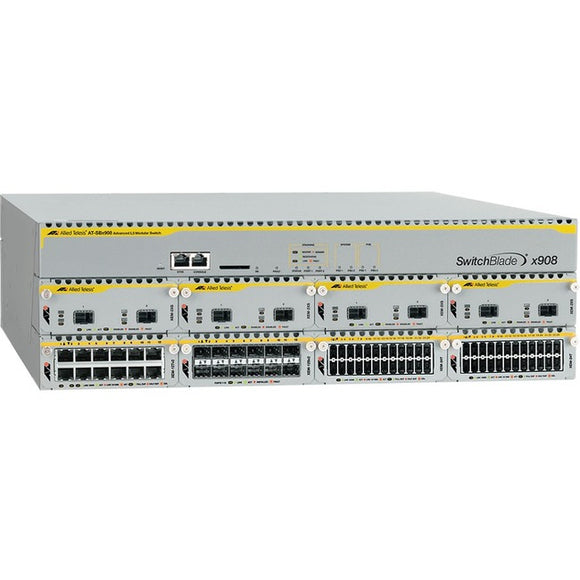 Allied Telesis Inc. Next Generation Advanced Layer 3 Modular Switch Chassis 8 X High Speed Expansion