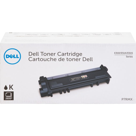 Dell-strategic Dell E310dw E514dw E515dw Black Toner High Yield 2600 Pages 593-bbkd Pvthg