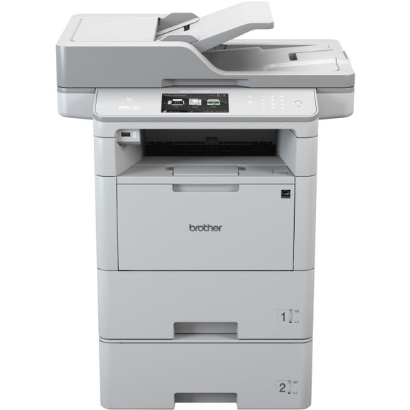 Brother MFC-L6900DWGT Laser Multifunction Printer - Monochrome - Plain Paper Print - Desktop - TAA Compliant