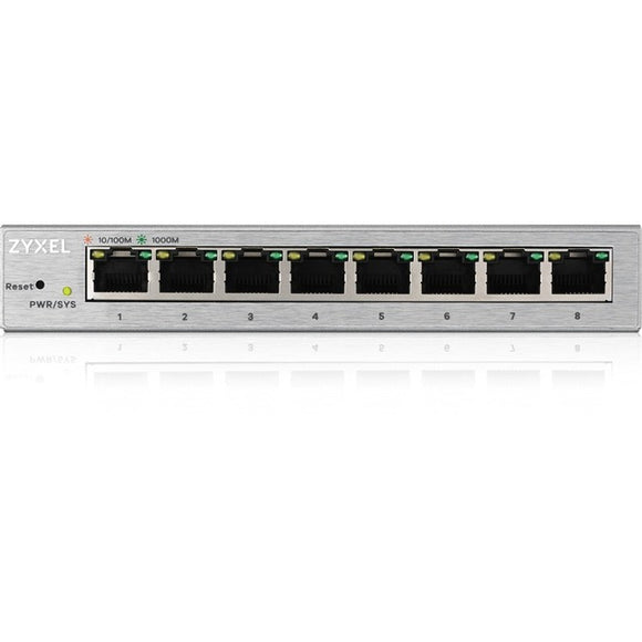 ZyXEL 8-Port GbE Web Managed Switch
