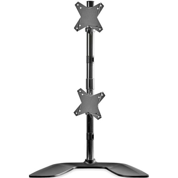 StarTech.com Vertical Dual Monitor Stand - For up to 27