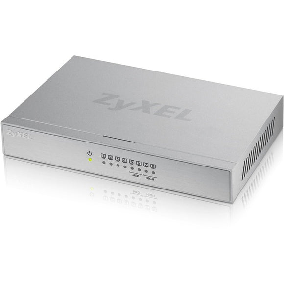 Zyxel Communications Gs108bv3 - 8-port 10-100-1000 Desktop Metal Switch