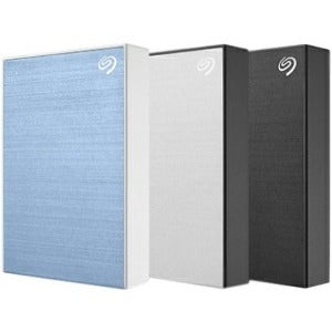 Seagate Backup Plus STHP5000400 5 TB Hard Drive - External - Portable - Black
