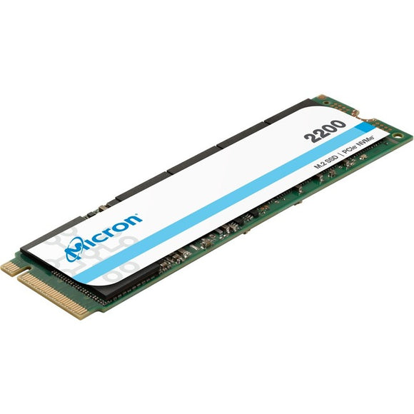 Micron 2200 256 GB Solid State Drive - PCI Express (PCI Express 3.0 x4) - Internal - M.2 2280