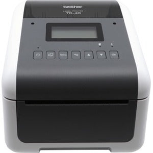 Brother TD-4550DNWB Direct Thermal Printer - Monochrome - Desktop - Label Print