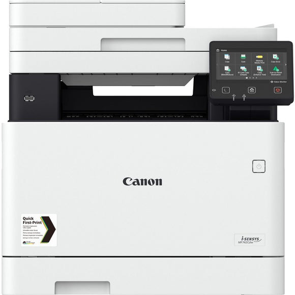 Canon imageCLASS MF740 MF741Cdw Laser Multifunction Printer - Color
