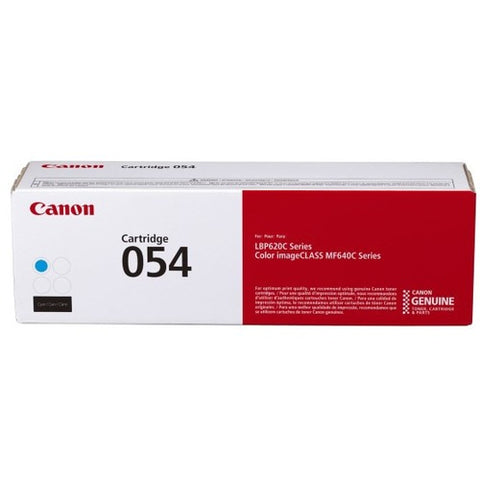 Canon 054 Original Toner Cartridge - Cyan - SystemsDirect.com