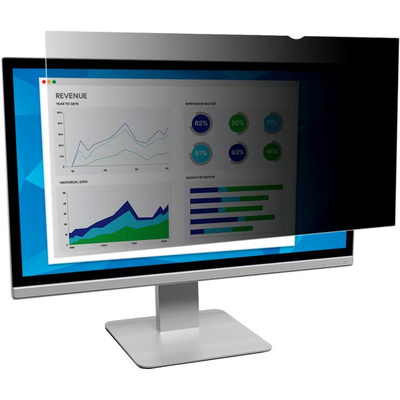 3m Mobile Interactive Solution Privacy Filter 20.1in Unframed Widescreen For Desktop Lcd Monitor