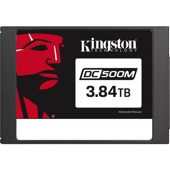 Kingston DC500 DC500M 3.84 TB Solid State Drive - SATA (SATA-600) - 2.5