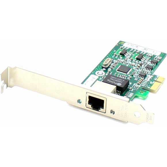 AddOn 10-100-1000Mbs Single Open RJ-45 Port 100m PCIe x4 Network Interface Card