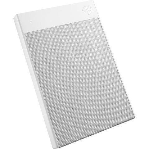 "Seagate Backup Plus Ultra Touch STHH1000402 1 TB Hard Drive - 2.5"" Drive - External - Portable - White"
