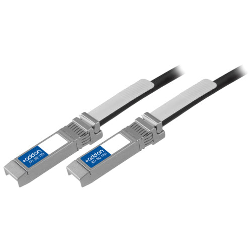 AddOn Cisco SFP-H10GB-CU0-5M Compatible TAA Compliant 10GBase-CU SFP+ to SFP+ Direct Attach Cable (Passive Twinax, 0.5m)