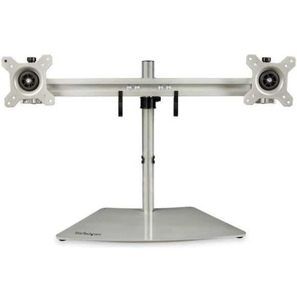 StarTech.com Dual-Monitor Stand - Horizontal - For up to 24
