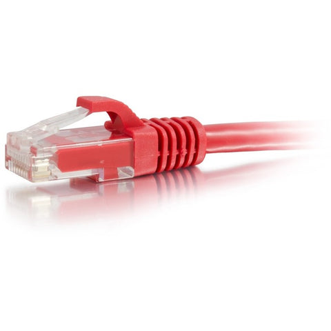 C2G 14ft Cat6a Snagless Unshielded (UTP) Network Patch Ethernet Cable-Red