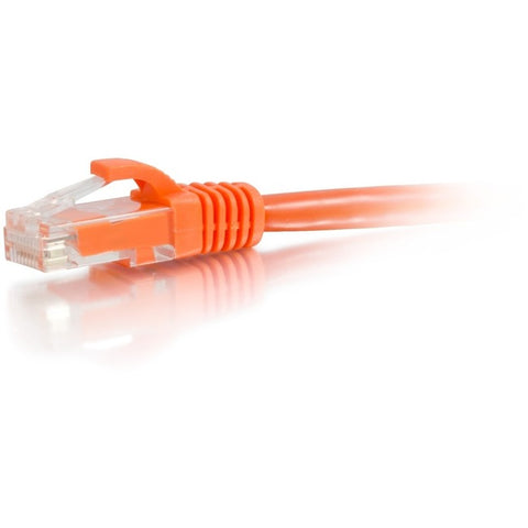 C2G 25ft Cat6a Snagless Unshielded UTP Network Patch Ethernet Cable-Orange