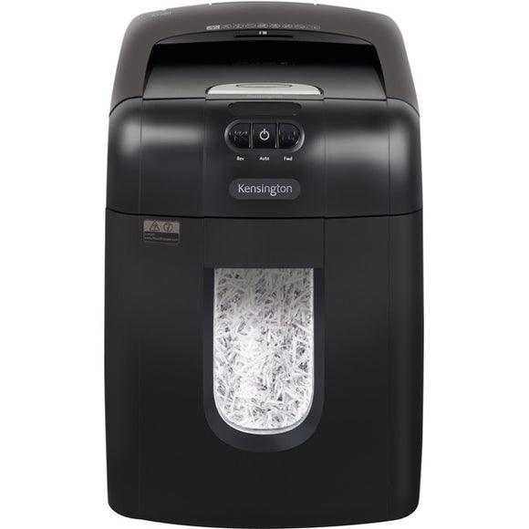 Kensington OfficeAssist Auto Feed Shredder A1300 Anti-Jam Cross Cut