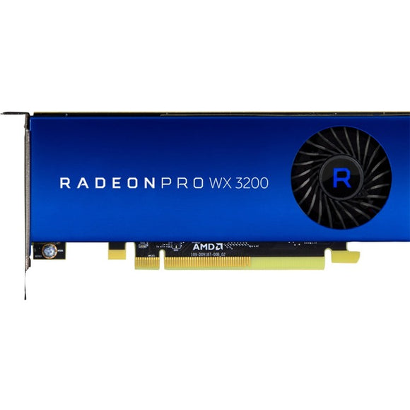 HP Radeon Pro WX 3200 Graphic Card - 4 GB GDDR5 - Low-profile