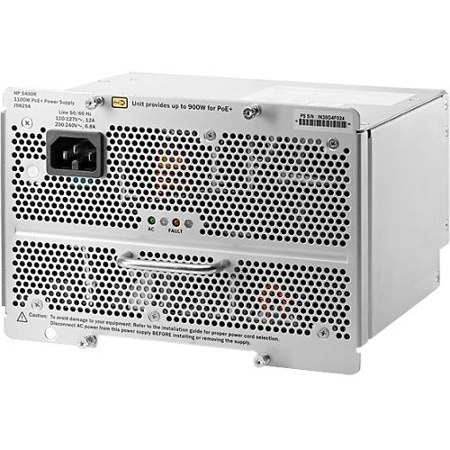 HPE 5400R 1100W PoE+ zl2 Power Supply