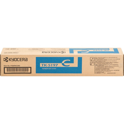 Kyocera TK-5197C Toner Cartridge - Cyan