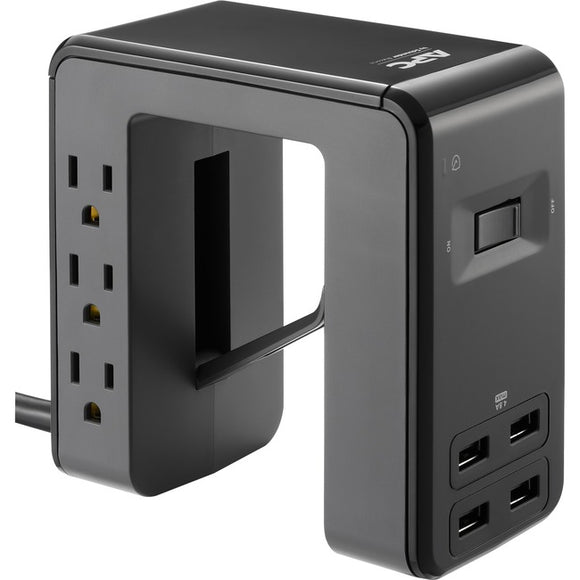 APC by Schneider Electric SurgeArrest Essential 6-Outlet Surge Suppressor-Protector