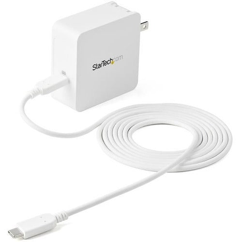 StarTech.com 1 Port USB-C™ Wall Charger with 60W of Power Delivery - 2 Year Warranty - USB C Portable Charger (WCH1C)