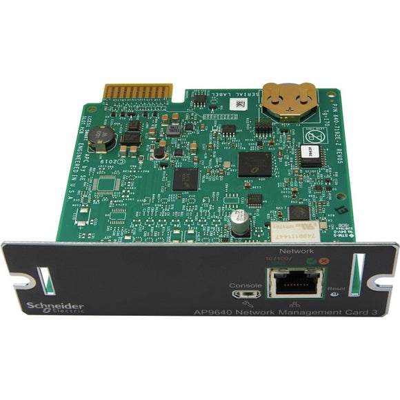 APC by Schneider Electric AP9640 UPS Management Adapter