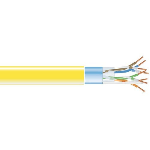 Black Box CAT5e 350-MHz Bulk Cable - Solid, Shielded, Plenum, 1000-ft. Spool