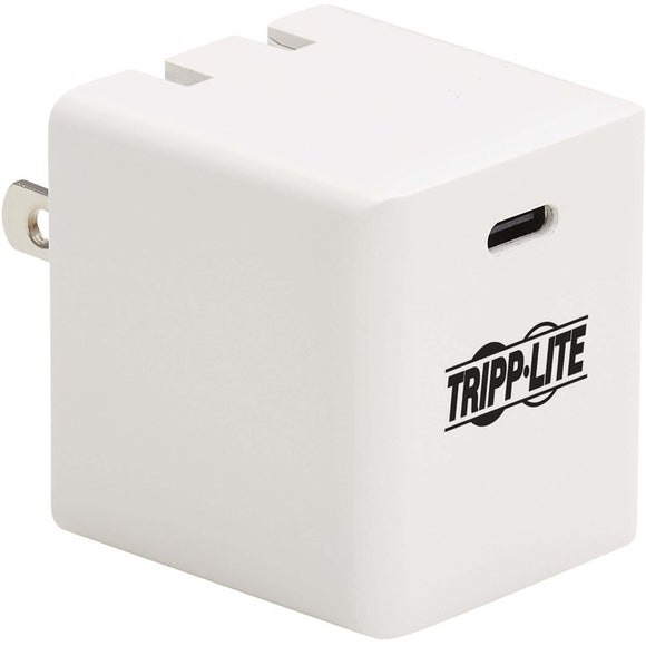 Tripp Lite 40W Compact USB-C Wall Charger - GaN Technology, USB-C Power Delivery 3.0