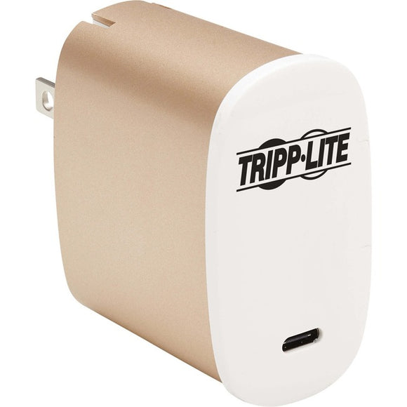 Tripp Lite 50W Compact USB-C Wall Charger - GaN Technology, USB-C Power Delivery 3.0