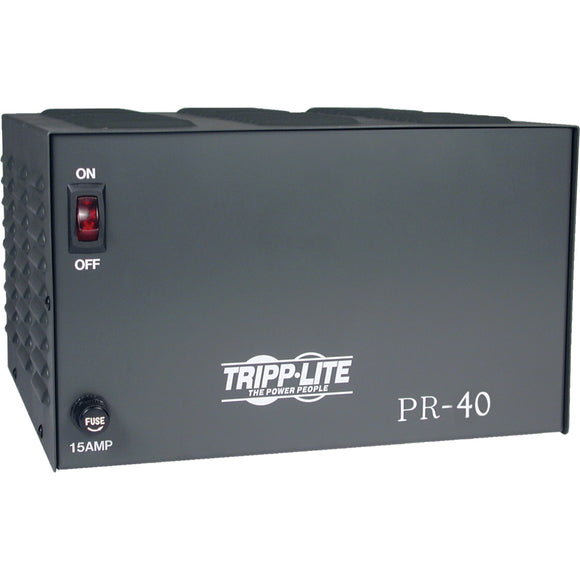 Tripp Lite DC Power Supply 40A 120VAC to 13.8VDC AC to DC Conversion TAA GSA
