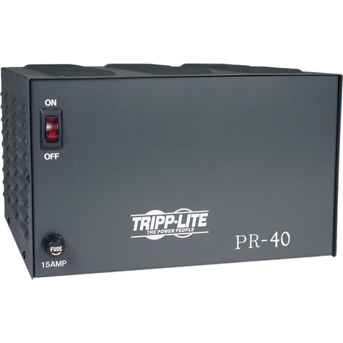 Tripp Lite DC Power Supply 40A 120VAC to 13.8VDC AC to DC Conversion TAA GSA -> May Require up to 5 Business Days to Ship