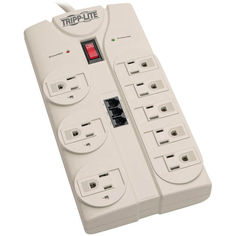 Tripp Lite Surge Protector Power Strip 120V 5-15R 8 Outlet RJ11 8' Cord 2160 Joule -> May Require up to 5 Business Days to Ship