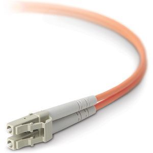 Belkin Components Belkin Fiber Optic Cable; Multimode Lc-lc Duplex Mmf, 50-125