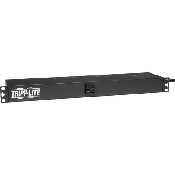 Tripp Lite PDU Basic 120V 20A 13 5-15R 15ft Cord 1U RM ->  -> May Require Up to 5 Business Days to Ship -> May Require up to 5 Business Days to Ship