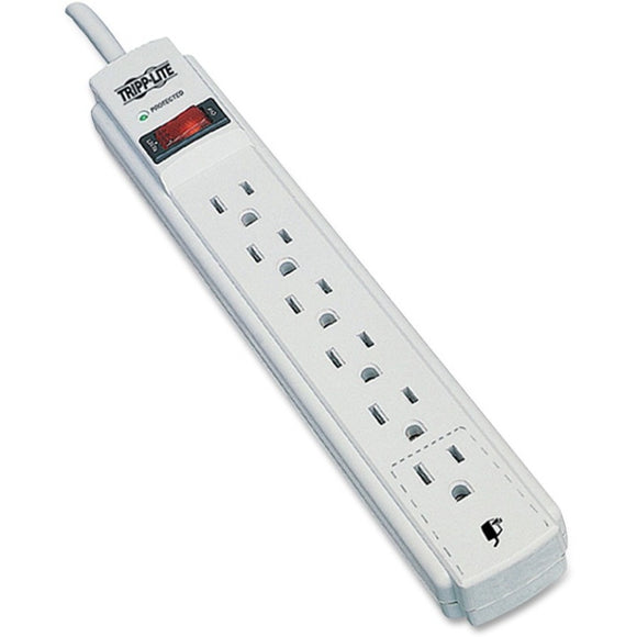 Tripp Lite Surge Protector Power Strip 120V 6 Outlet 4' Cord 790 Joule