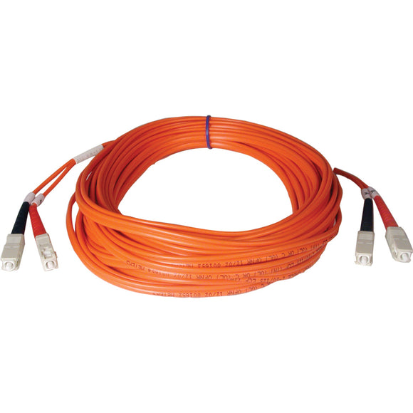 Tripp Lite 50M Duplex Multimode 50-125 Fiber Optic Patch Cable SC-SC 164' 164ft 50 Meter