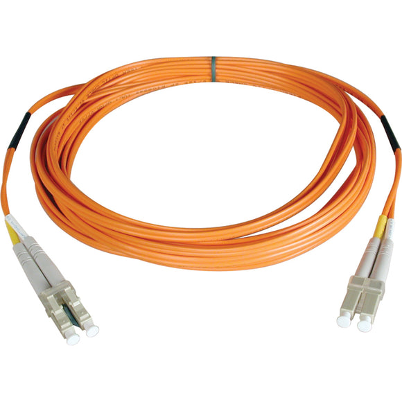 Tripp Lite 15M Duplex Multimode 50-125 Fiber Optic Patch Cable LC-LC 50' 50ft 15 Meter