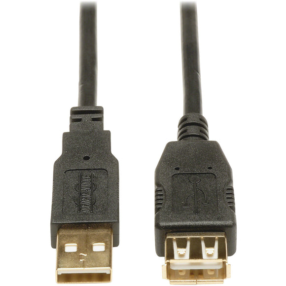 Tripp Lite 6ft USB 2.0 Hi-Speed Extension Cable Shielded A Male - Female