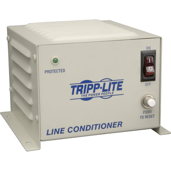 Tripp Lite 600W Line Conditioner w- AVR - Surge Protection 120V 5A 60Hz 4 Outlet Power Conditioner