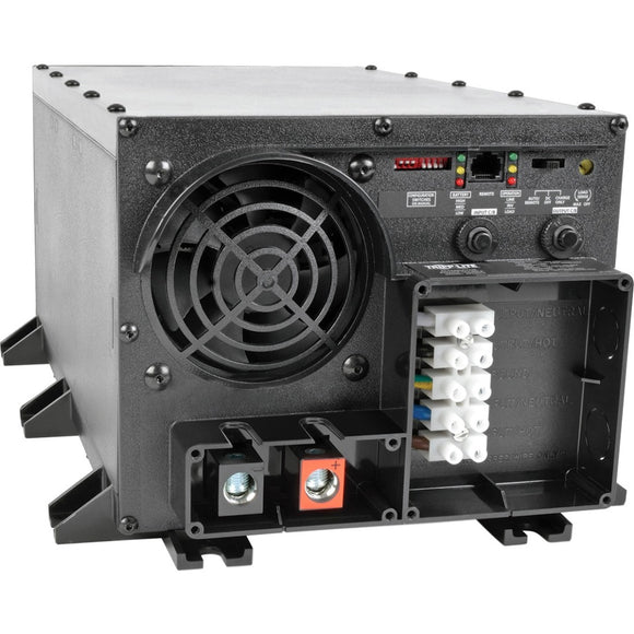 Tripp Lite 24000W APS 48VDC 120V Inverter - Charger w- Auto Transfer Switching ATS Hardwired UL