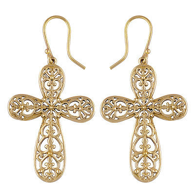 ALLEGRA Cross Earrings | Elnique