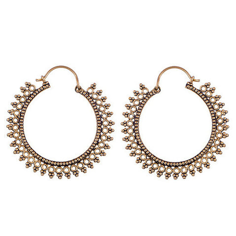 AVALON Hoop Earrings | Elnique