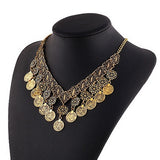 BELLATRIX Statement Coin Necklace | Elnique