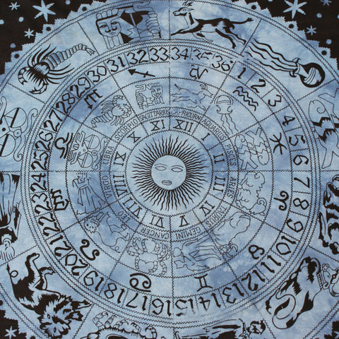 INGRID. Zodiac Tapestry *BLUE OR PURPLE* | Elnique