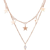 DESTINY. Gold Star Lariat Necklace
