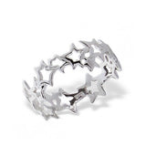 ROXIE. Star Ring (.925 Sterling Silver) | Elnique