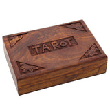 TAROT Wooden Trinket Box | Elnique