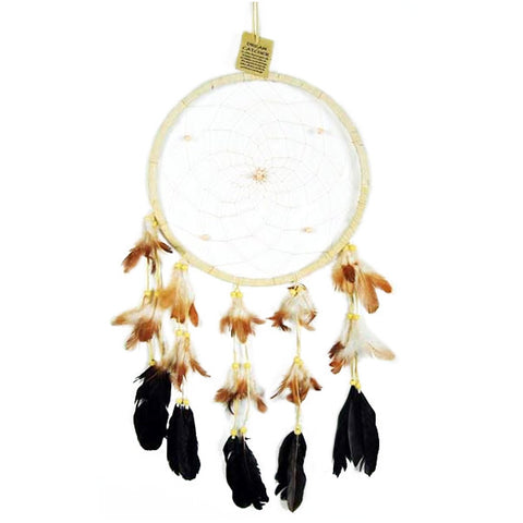 ATHENA. Large Cream Dreamcatcher | Elnique