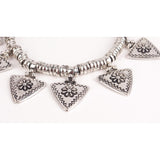 ESENTEPE. Silver Spearhead Statement Necklace | Elnique