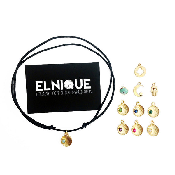 Gold Adjustable Chokers | Elnique